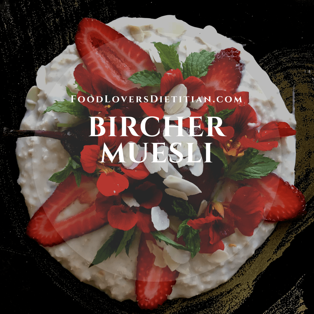 Easy 3 step recipe for bircher muesli with inspirational tips forumfinder Choice Image