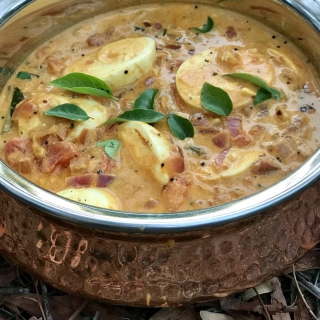 Richa's South Indian Style Egg Curry